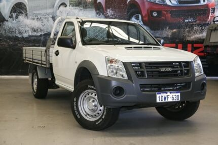 2012 Isuzu D-MAX MY11 SX Silver 5 Speed Manual Cab Chassis