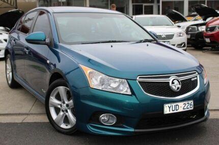 2012 Holden Cruze JH Series II MY13 SRi-V Green 6 Speed Manual Hatchback Cheltenham Kingston Area Preview