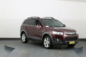 2012 Holden Captiva CG MY12 7 CX (4x4) Burgundy 6 Speed Automatic Wagon Smithfield Parramatta Area Preview