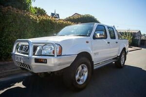 2006 Nissan Navara D22 S2 ST-R White 5 Speed Manual Utility Hove Holdfast Bay Preview