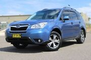 2014 Subaru Forester S4 MY14 2.5i Lineartronic AWD Luxury Blue 6 Speed Constant Variable Wagon Run-o-waters Goulburn City Preview