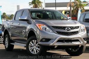 2014 Mazda BT-50 UP0YF1 XTR Grey 6 Speed Manual Utility Mount Gravatt Brisbane South East Preview