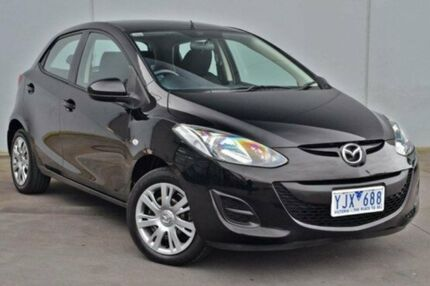 2011 Mazda 2  Brilliant Black Automatic Hatchback Cranbourne Casey Area Preview