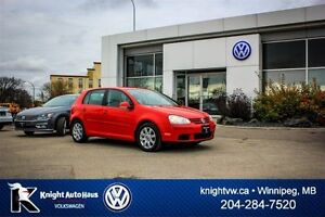2008 Volkswagen Rabbit Trendline w/ Super Low KM/No Accident's!