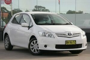 2011 Toyota Corolla ZRE152R MY11 Ascent Glacier White 4 Speed Automatic Hatchback Old Guildford Fairfield Area Preview