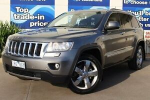 2012 Jeep Grand Cherokee WK MY2012 Limited Grey 5 Speed Sports Automatic Wagon Bundoora Banyule Area Preview