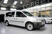 2008 Volkswagen Caddy 2K MY09 Maxi Silver 6 Speed Direct Shift Van Port Melbourne Port Phillip Preview
