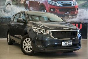 2015 Kia Carnival YP MY16 S Blue 6 Speed Sports Automatic Wagon Rockingham Rockingham Area Preview