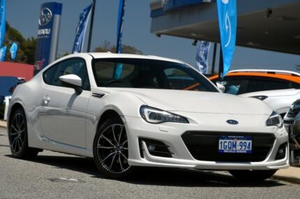 2017 Subaru BRZ Z1 MY18 Premium Crystal White 6 Speed Sports Automatic Coupe Willagee Melville Area Preview