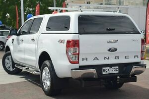 2012 Ford Ranger PX XLT 3.2 (4x4) White 6 Speed Automatic Dual Cab Utility Waitara Hornsby Area Preview