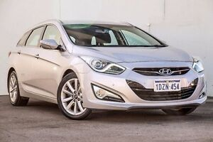 2012 Hyundai i40 VF Elite Tourer Silver 6 Speed Sports Automatic Wagon Myaree Melville Area Preview
