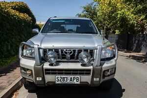2004 Toyota Landcruiser Prado GRJ120R Grande Silver 4 Speed Automatic Wagon Hove Holdfast Bay Preview