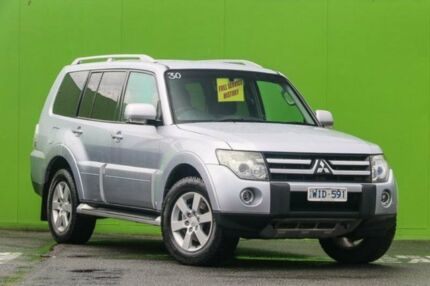 2008 Mitsubishi Pajero NS VR-X Silver 5 Speed Sports Automatic Wagon Ringwood East Maroondah Area Preview