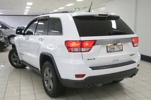 2013 Jeep Grand Cherokee WK MY13 Trailhawk White 5 Speed Automatic Wagon Chatswood West Willoughby Area Preview