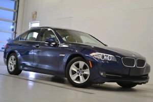 2011 BMW 528i with Premium and Navigation Packages *Low KMs*