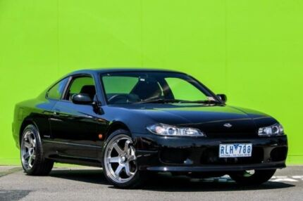 2002 Nissan 200SX S15 Spec S Black 4 Speed Automatic Coupe