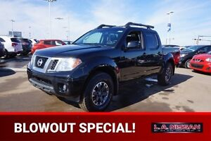 2015 Nissan Frontier 4X4 CREWCAB PRO-4X Accident Free,  Navigati