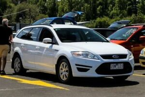 2013 Ford Mondeo MC LX PwrShift TDCi White 6 Speed Sports Automatic Dual Clutch Wagon Ringwood East Maroondah Area Preview