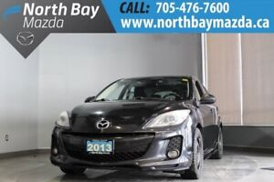 2013 Mazda Mazda3 GT Manual with Leather, Bluetooth, Heated Seat