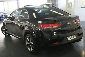 2012 Kia Cerato TD MY12 Koup SLS Black 6 Speed Manual Coupe Chatswood Willoughby Area Preview