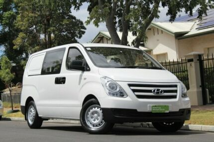 2017 Hyundai iLOAD TQ3-V Series II MY17 Crew Cab White/barndoors 5 Speed Automatic Van Nailsworth Prospect Area Preview