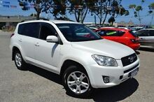 2011 Toyota RAV4 ACA33R MY12 Cruiser White 4 Speed Automatic Wagon Pearsall Wanneroo Area Preview