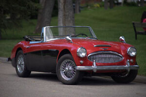 Partial restored 1964 Austin Healy 3000 MkII BJ7 w 67000 Miles!