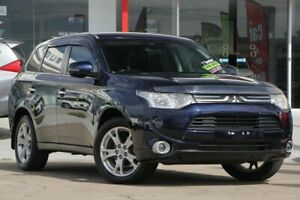 2012 Mitsubishi Outlander ZJ MY13 Aspire 4WD Blue 6 Speed Sports Automatic Wagon Kippa-ring Redcliffe Area Preview