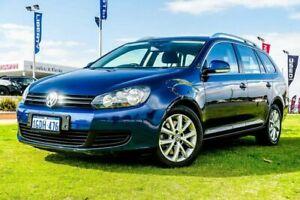 2012 Volkswagen Golf VI MY12.5 118TSI DSG Comfortline Blue 7 Speed Sports Automatic Dual Clutch Wangara Wanneroo Area Preview