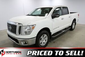 2018 Nissan Titan 4WD CREWCAB SV Accident Free,  Back-up Cam,  B