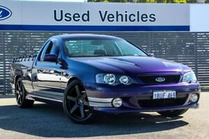 2004 Ford Falcon BA XR8 Ute Super Cab Purple 4 Speed Sports Automatic Utility