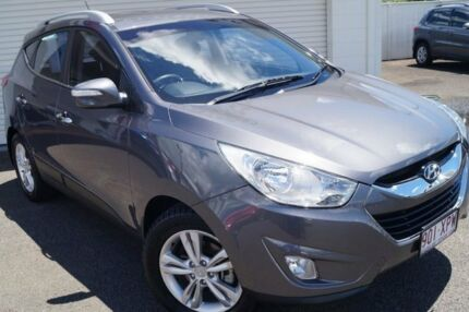 2013 Hyundai ix35 LM2 Elite Grey Titanium 6 Speed Sports Automatic Wagon