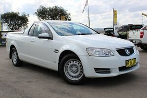 2012 Holden Ute VE II MY12 Omega White 6 Speed Sports Automatic Utility Telarah Maitland Area Preview