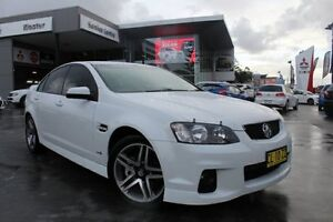 2011 Holden Commodore VE II SV6 White 6 Speed Manual Sedan Hamilton East Newcastle Area Preview