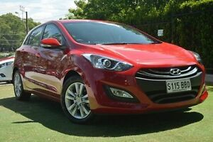 2014 Hyundai i30 GD2 MY14 Trophy Red 6 Speed Sports Automatic Hatchback Paradise Campbelltown Area Preview