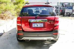 2015 Holden Captiva CG MY15 7 AWD LTZ Red 6 Speed Sports Automatic Wagon