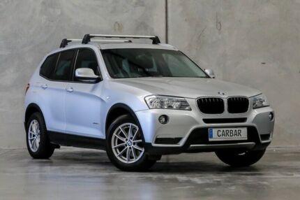 2012 BMW X3 F25 MY0412 xDrive20i Steptronic Silver 8 Speed Automatic Wagon