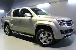 2012 Volkswagen Amarok 2H MY13 TDI420 4Motion Perm Ultimate Beige 8 Speed Automatic Utility Invermay Launceston Area Preview