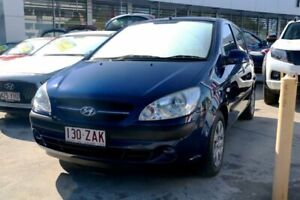 2008 Hyundai Getz TB MY07 S Blue Onyx 4 Speed Automatic Hatchback Mount Gravatt Brisbane South East Preview