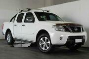 2011 Nissan Navara D40 MY11 ST-X 550 White Semi Auto Utility Underwood Logan Area Preview