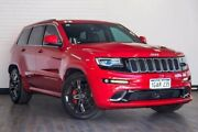 2016 Jeep Grand Cherokee WK MY15 SRT Red 8 Speed Sports Automatic Wagon Victoria Park Victoria Park Area Preview