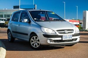 2007 Hyundai Getz TB MY06 Silver 4 Speed Automatic Hatchback East Rockingham Rockingham Area Preview
