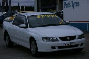 2004 Holden Crewman VY II S White 4 Speed Automatic Crew Cab Utility Fyshwick South Canberra Preview