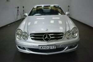 2006 Mercedes-Benz CLK350 C209 MY07 Avantgarde Silver 7 Speed Sports Automatic Coupe