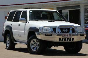 2007 Nissan Patrol GU 6 MY08 Walkabout White 5 Speed Manual Wagon Woolloongabba Brisbane South West Preview