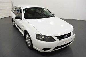 2007 Ford Falcon BF MkII XL (LPG) White 4 Speed Auto Seq Sportshift Cab Chassis Moorabbin Kingston Area Preview