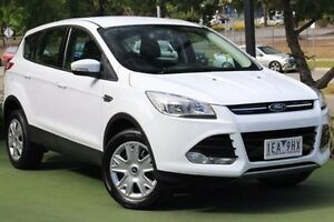 2014 Ford Kuga TF MY15 Ambiente 2WD White 6 Speed Sports Automatic Wagon Berwick Casey Area Preview