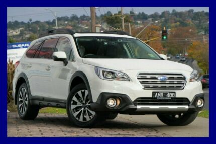 2016 Subaru Outback B6A MY17 2.0D CVT AWD Premium Crystal White Pearl 7 Speed Constant Variable