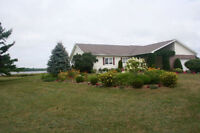 Waterfront home with Sandy beach and Amazing views. 29 Sandpiper