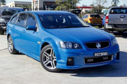 2012 Holden Commodore VE II MY12 SV6 Sportwagon Perfect Blue 6 Speed Sports Automatic Wagon